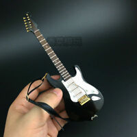 "1/6 Scale Black  Folk electric guitar model instrument Model For 12"" Figure Body"