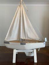 Vintage 1930's Model Pond Yacht