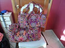Vera bradley Large and small duffel bag travel set in Safari Sunset  EUC