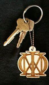 Dream Theater Laser Engraved Keychain Backpack Accessory