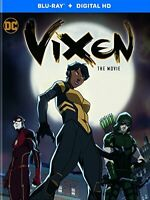 Vixen: The Movie [Blu-ray + Digital Download] [2017] [DVD][Region 2]