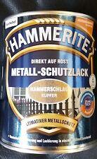 Hammerite Metallschutz-Lack 750 ml Hammerschlag Kupfer