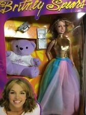 New Britney Spears Live In Concert Doll Oops Bear and Accessories New In Box