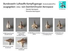 BUNDESWEHR Luftwaffe Kampfflugzeuge Motive Abzeichen Aussuchen