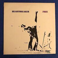 FREE Heartbreaker 1972 UK vinyl LP EXCELLENT CONDITION pink rim with inner B