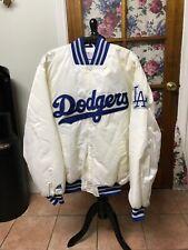 VTG & RARE !!! LA Dodgers Majestic MLB Authentic Baseball Jacket Sz L MINT !!!