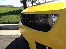 Camaro front Bumper facia Blackout. Pre-cut Gloss Black automotive graphics film