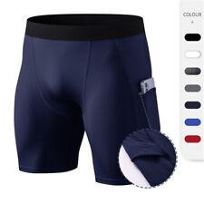 Pantalones cortos para hombres Compresión Suave Seco Fresco Deporte Short Pantalón Ajustado Para Entrenamiento De Entrenamiento