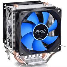 Cooler Master CPU Cooper Double Heat Pipe Cooling Fan Heatsink Soket