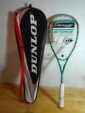 RAQUETA SQUASH RACKET NEW DUNLOP G-FORCE 50 WITH CASE