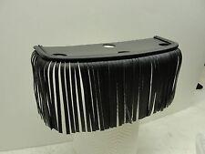 Heritage Springer Driver Floorboard Fringe black trim