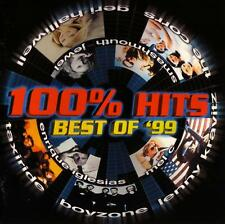100 % HITS - BEST OF '99 / VARIOUS ARTISTS - 2 CD SET