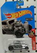 077 77 32 1932 FORD ZAMAC 11 RAT STREET ROD SILVER FORD 2017 HW HOT WHEELS