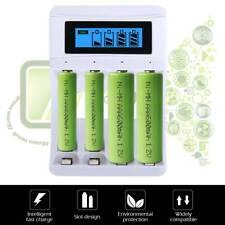 Universal LCD Akku Batterie Ladegerät Aufladegerät  für AA AAA Schnelladegerät