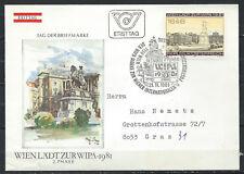 Autriche 1980 Wipa Exposition philatélique FDC, Frist Day Cover
