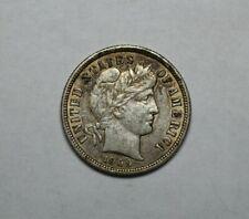 1909 Barber Head Silver Dime - 163681A