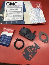 *NEW OEM* 0670P6 OMC Johnson Evinrude Carburetor Cover Kit 436342