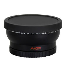 58mm 0.45x Wide Angle Lens Professional for Canon EOS 1100D 550D 600D 500D + Bag