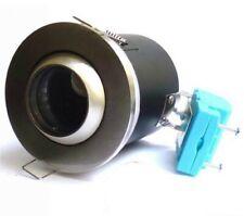 BRUSHED CHROME EYEBALL IP65 - FD-129 X 10 MR16 12V