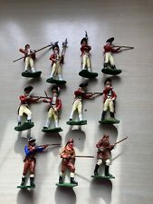 BRITAINS SWOPPETS AWI SOME CODE 3.ALL REPAINTED VGC X 11 FIGURES
