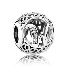 "791867CZ Pandora Bead ""Buchstabe W"" Silber"