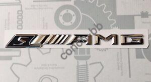 Mercedes sAMG Badge Emblem Decals New Style 3D Chrome