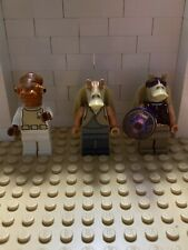 LEGO Minifigures Star Wars Jar Jar Binks Gungan Solider Admiral Ackbar