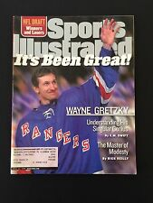 SPORTS ILLUSTRATED 4/26/1999 WAYNE GRETZKY RETIRES ON THE COVER
