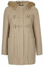 Topshop Patternless Full Length Coats & Jackets for Women