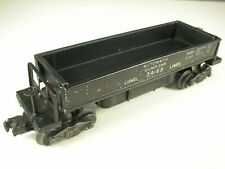Lionel 3469 Dump Car, Black, EXC condition, works! w/ long dump bin