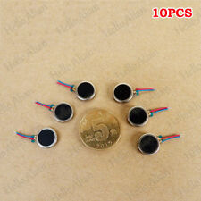 10PCS DC 3V Mini 10mm*3mm Vibration Motor Button-type Coin Flat DC MotorDIY Toy