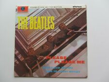 THE BEATLES PLEASE PLEASE ME ORIG 1964  UK STEREO LP  MID SIZE STEREO