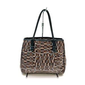 Ferragamo Tote Bag  Browns PVC 2410155