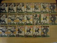 2009-10 Upper Deck Series 2 - VANCOUVER CANUCKS Team Lot Set - 20 Hockey Cards