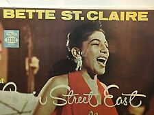 BETTY ST CLAIR - At Basin Street ~ SECCO 456 {nm dg orig} w/Duvivier ->VERY RARE