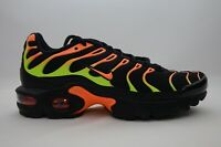 Nike Air Max Plus (GS) Black Youth Size 3.5Y-5Y New in Box NO Top Lid 655020 084