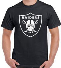 Oakland Raiders - Mens American Football T-Shirt NFL Jersey USA Super Bowl