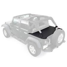 Smittybilt Black Tonneau Cover Fits Jeep Wrangler JK 07-18 4 Door S/B761335