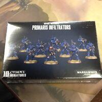 Primaris Infiltrators 40K Warhammer Space Marines Sealed IN STOCK
