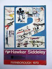 HAWKER SIDDELEY Brochure Farnborough 1970