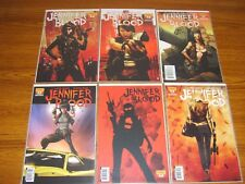 JENNIFER BLOOD #1 - 6 SET (DYNAMITE) 2011 (6 ISSUES) GARTH ENNIS
