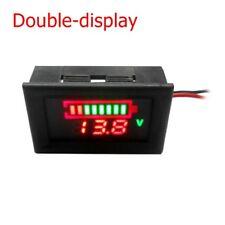 HD LED Panel Digital Display Car Motorbike Volt Meters Voltage Gauge Meter Kit