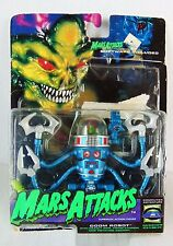 Mars Attacks Doom Robot - Blue Action Figure -  (packing has some wear)