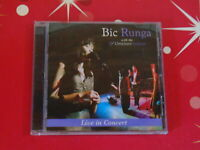 CD BIC RUNGA - LIVE IN CONCERT Recorded live at the Christchurch Town Hall, 3 Oc