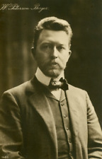 Wilhelm Peterson-Berger Vintage carte photo, Olof Wilhelm Peterson-Berger est