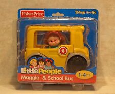 Fisher Price Little People Maggie & School Bus Fisher Price Toy