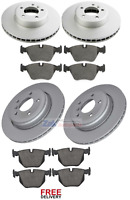 FOR BMW E60 E61 5 SERIES 520D 525D 530D 535D FRONT & REAR BRAKE DISCS & PADS NEW