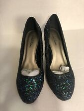 Michael Antonio Glitter Shoes Size 8.5