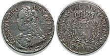 LOUIS XV  1/5 ECU AUX BRANCHES D OLIVIER 1731 A