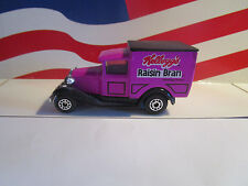 MATCHBOX MODEL A FORD DELIVERY TRUCK KELLOGG'S RAISIN BRAN LOOSE